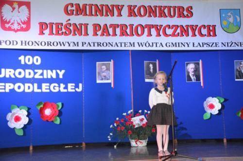III Gminny Przegląd Pieśni Patriotycznej w Łapszach Niżnych